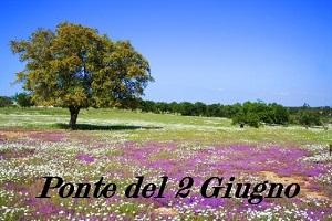 PONTE DEL 2 GIUGNO offerta speciale in pensione completa e massaggio relax 3 giorni 2 notti € 250