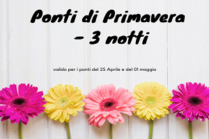 3 Notti Ponti alle Terme  – Abano – Massaggi Spa Piscine € 275