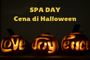 Spa Day + Cena di Halloween Ballo piscine e Spa € 58