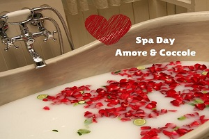 Spa Day – Amore & Coccole piscine camera pranzo € 70
