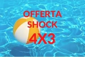 4 Notti – Offerta Shock Stay 4 e paghi 3 € 233