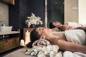 Spa Day – massaggio di coppia camera SUPERIOR Flute di bollicine € 115